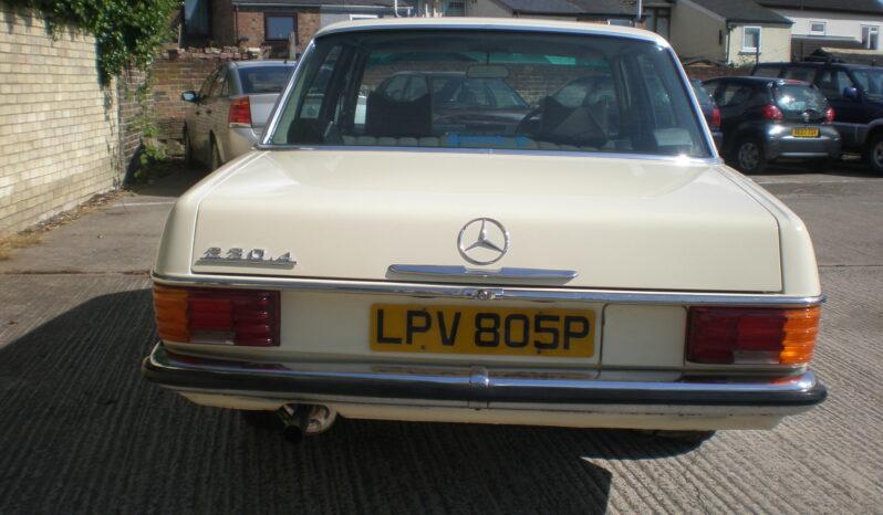 1975 MERCEDES BENZ 230/4 AUTOMATIC full