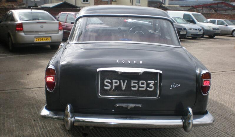 1963 ROVER P5 3.0 SALOON full